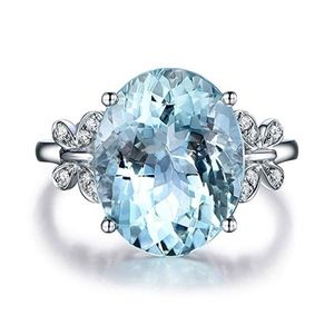Jewelry - Meolin Rhinestone Butterfly Ring Natural Topaz Sto